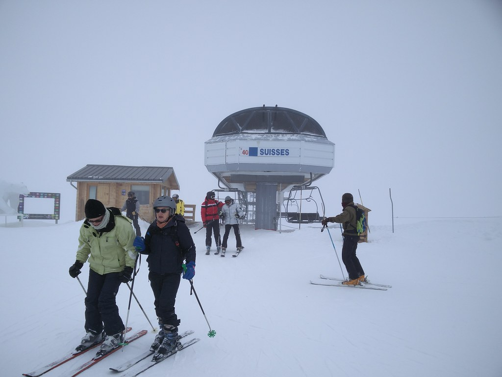 Suisses chairlift