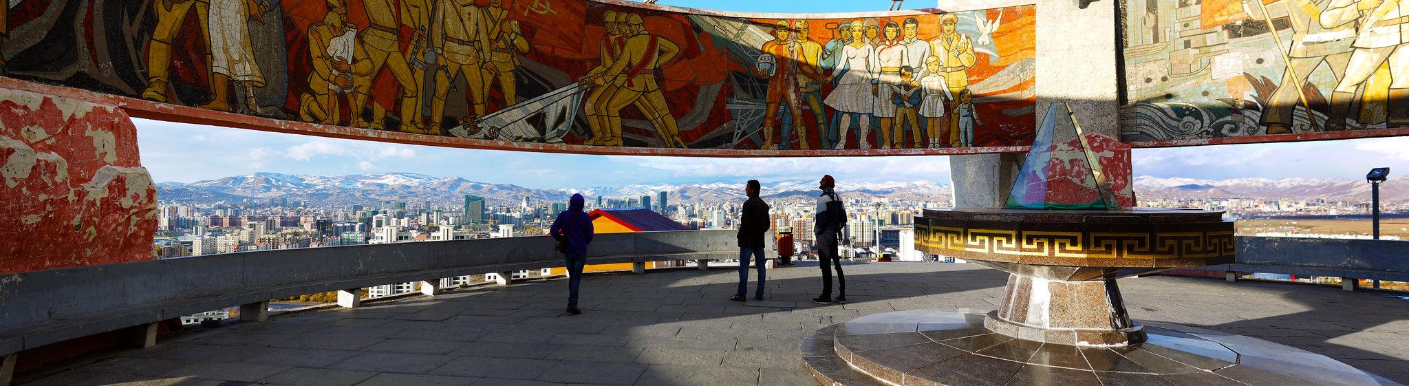 Zaisan Memorial - Mural