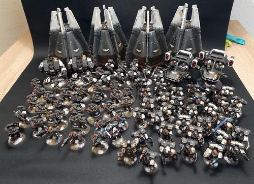 Warhammer 40K - Raven Guard Army