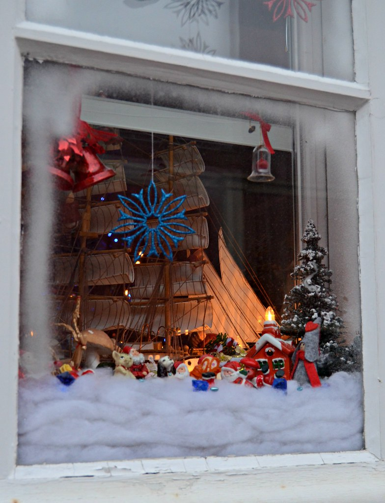 Christmas window in Old Rauma