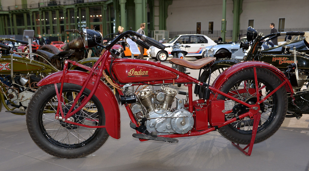Indian 750cc 101 scout 1928