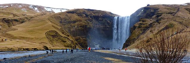 Skógafoss I Iceland