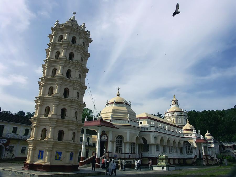 Храм Шри Шантадурги Старый ГОА,, Индия © Kartzon Dream - авторские путешествия, авторские туры в Индию, тревел фото, тревел видео, фототуры