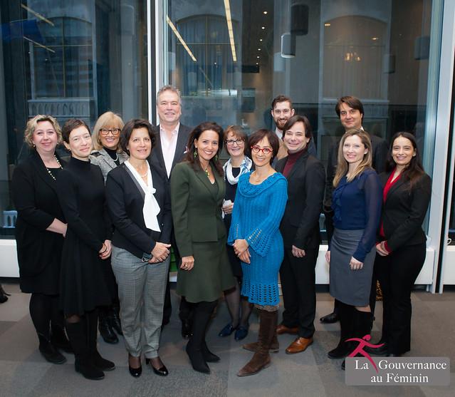2016.01.14 Lancement de la première cohorte de mentorat de la Gouvernance au Féminin