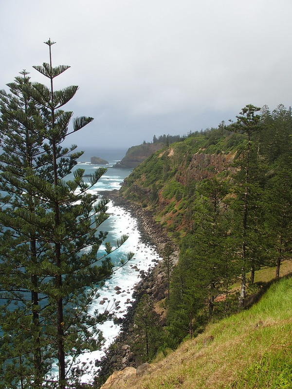 View from Bedrock Cafe, Norfolk Island