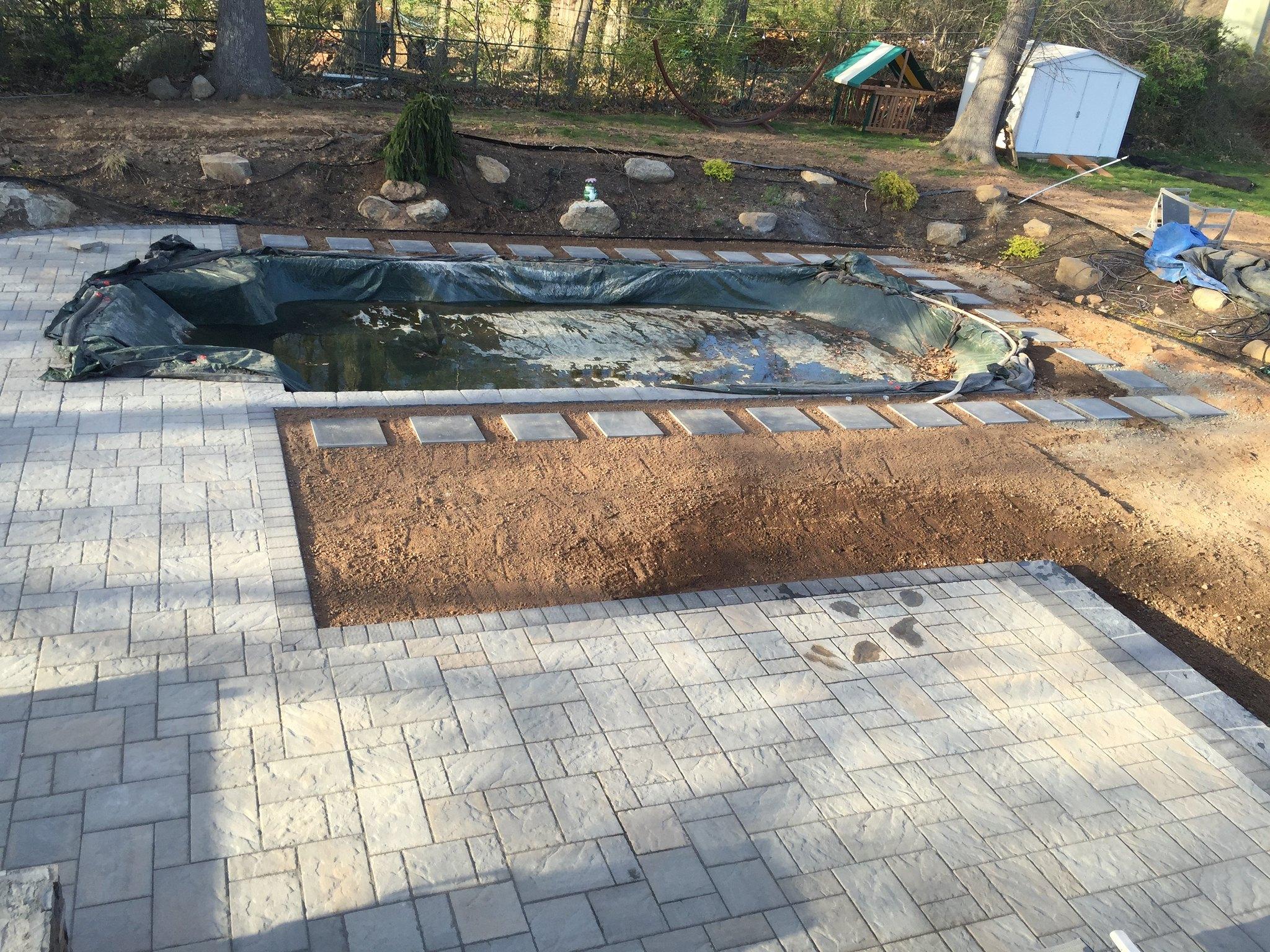 Fleming Island Fl New Free Form Pool Build