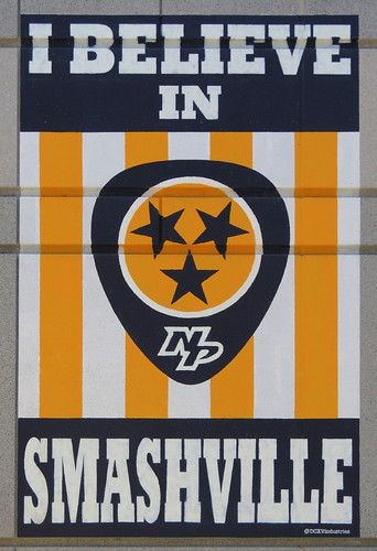 I believe in smashville based on the quot i believe in