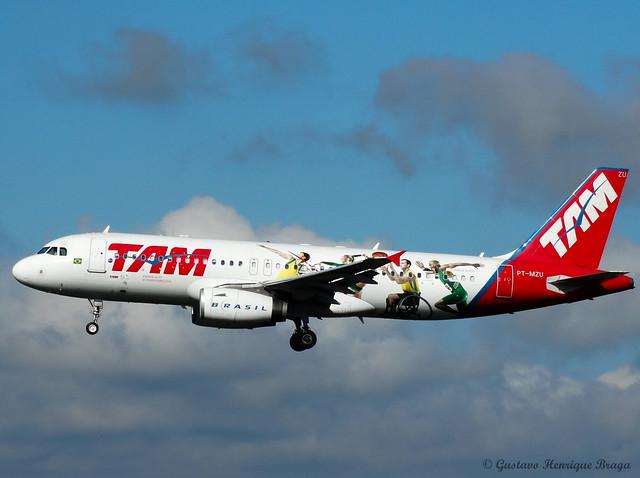 A320-232 PT-MZU TAM Airlines (Olimpíadas do Rio 2016)