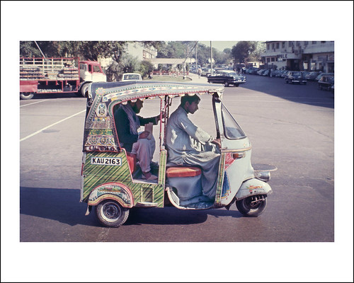 Vehicle Collection (6624) - Vespa Auto Rickshaw