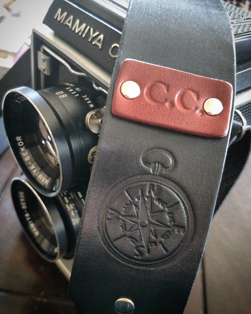 Excited that my new camera strap arrived before #SXSW. See you there?