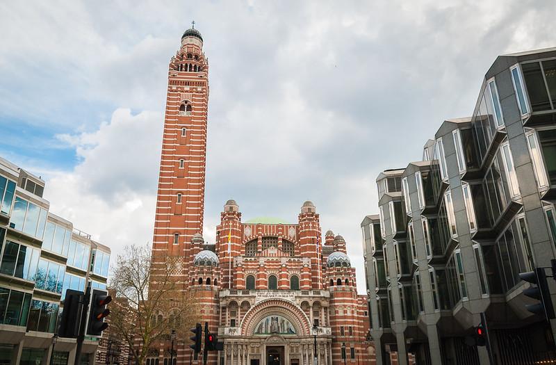 Cathédrale de Westminster vue de l'extérieur - Photo de Gary Ullah