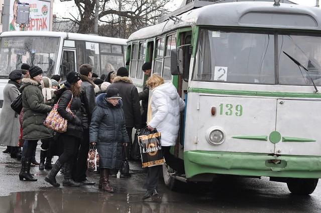 У тролейбусах — «голі» квитки