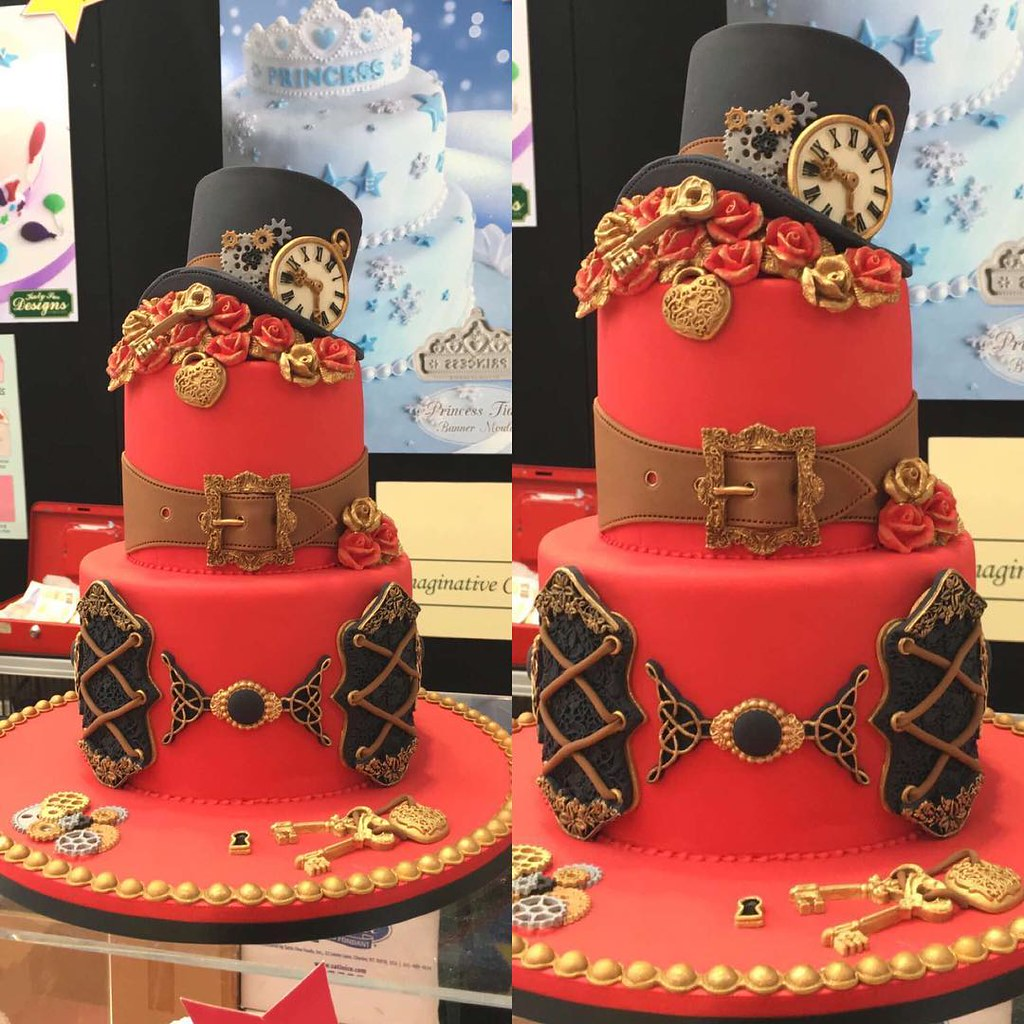 Steampunk at Cake International 2016