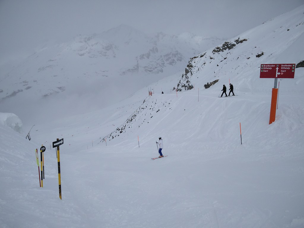 Black run to Breitboden