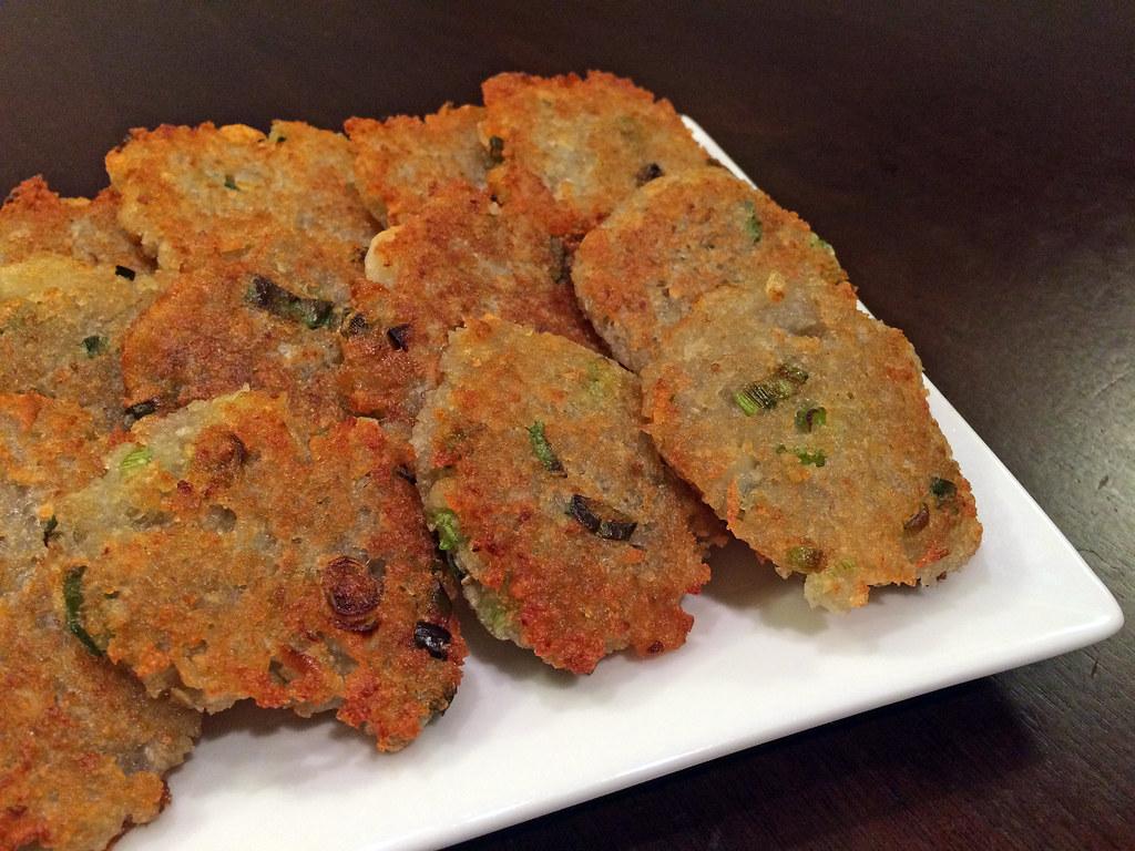 Gamjajeon (potato pancakes)