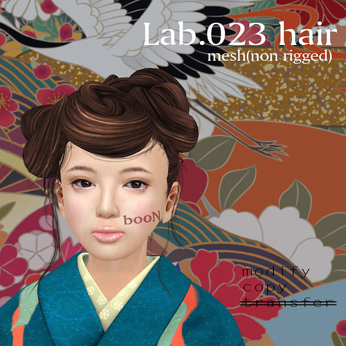 booN Lab.023 hair
