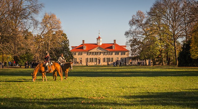 A Fine Afternoon at Mount Vernon