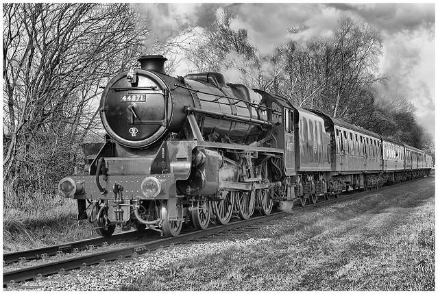 East Lancs Railway, Lancashire UK 25075470444_51c48a3cb6_z
