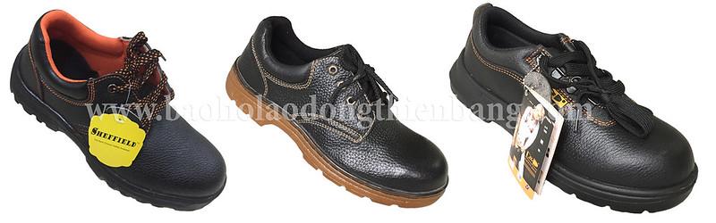 Giày bảo hộ lao động ABC mũi sắt lót thép