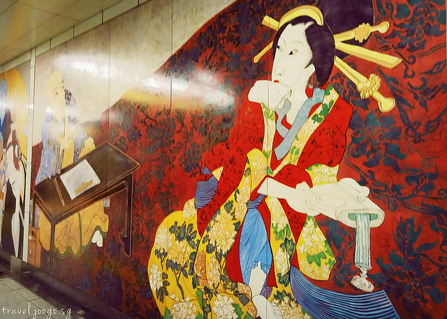 Tokyo Subway Wall ART- travel.joogo.sg
