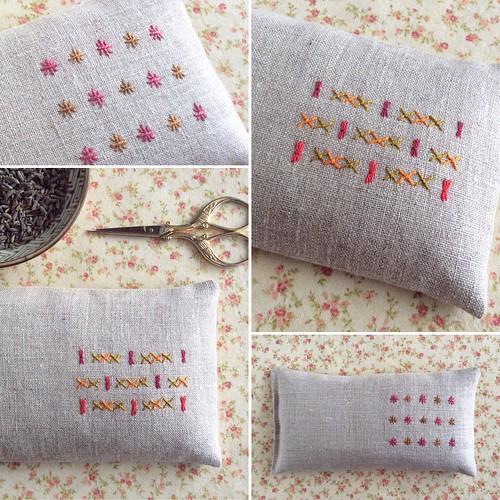 New eye pillows