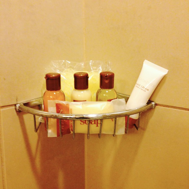 Sheraton Uptown Albuquerque shower amenities