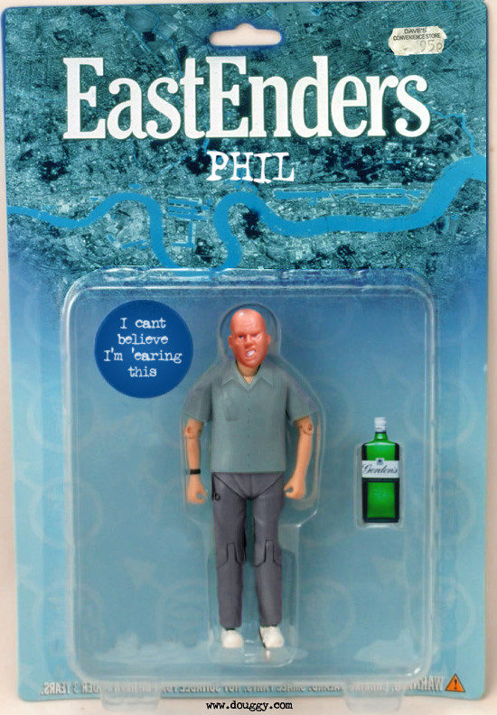 Amazing action figure concepts by Douggy - Phil Mitchell EastEnders