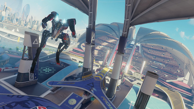 RIGS: Mechanized Combat League on PlayStation VR