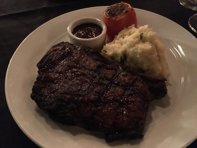 KC steak - Spencer's Restaurant