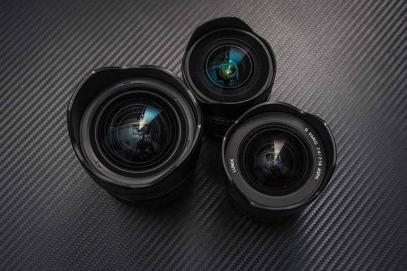 Olympus 8mm f/1.8 7-14mm f/2.8 PRO|Panasonic 7-14mm f/4.0