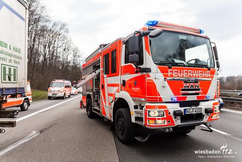 unfall a3 niedernhausen