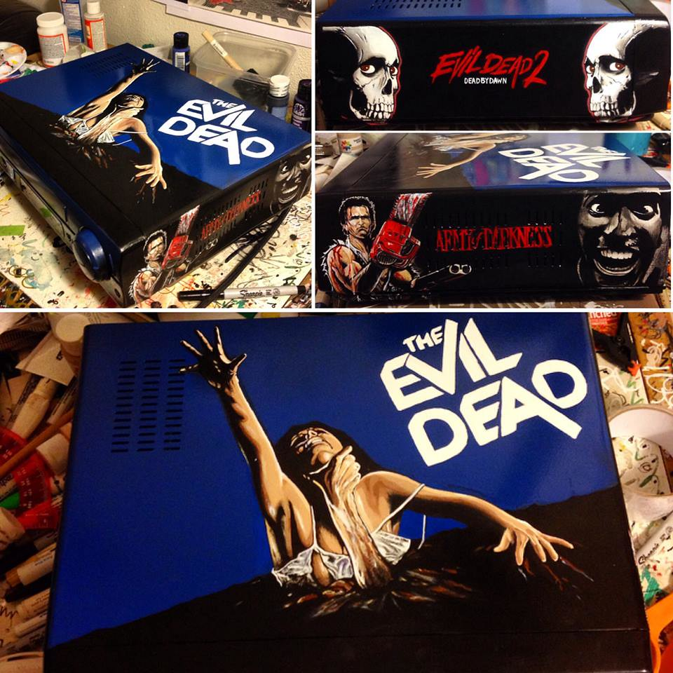 The Evil Dead custom VCR by Sorce CodeVhs