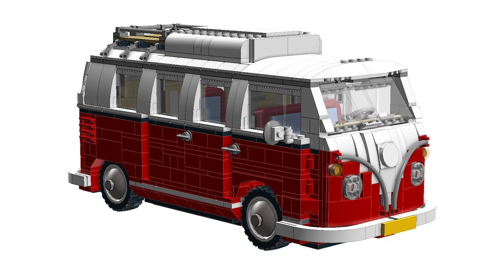 LDD] 10220 VW T1 Camper (2016 Update) - Special LEGO Themes ...