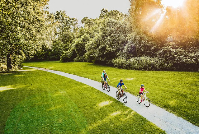 Family Biking - Roanoke Valley Greenways