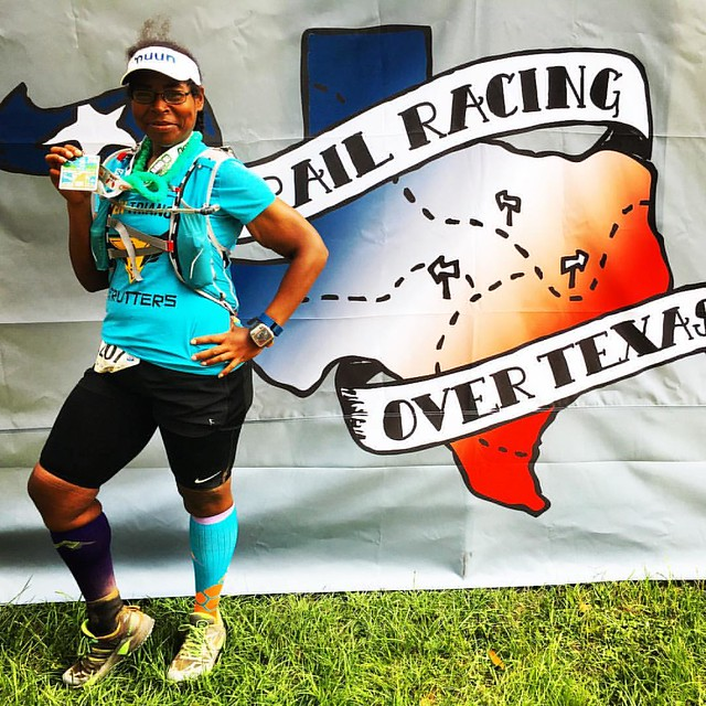 I finished the 50k an hour and half faster than last year. No rain, no mud; just good people and the open trails. I really had no business #running this far today but I did. It was a great time @trailracingovertexas #brazosbend. #webeatfat #teamnuun #gtst