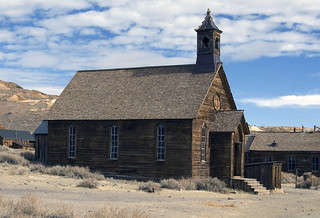 Bodie Church from the Side | by dcnelson1898