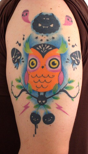 Tado Owl Tattoo! | by Owl Movement