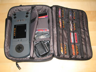 Atari Lynx in its carrying case | by blakespot