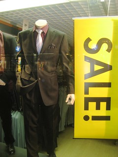 Suit on sale, in Lappeenranta | by anantal