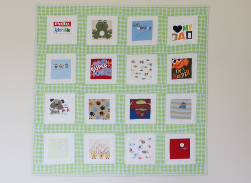 Onesie Quilt | by thejoycottage