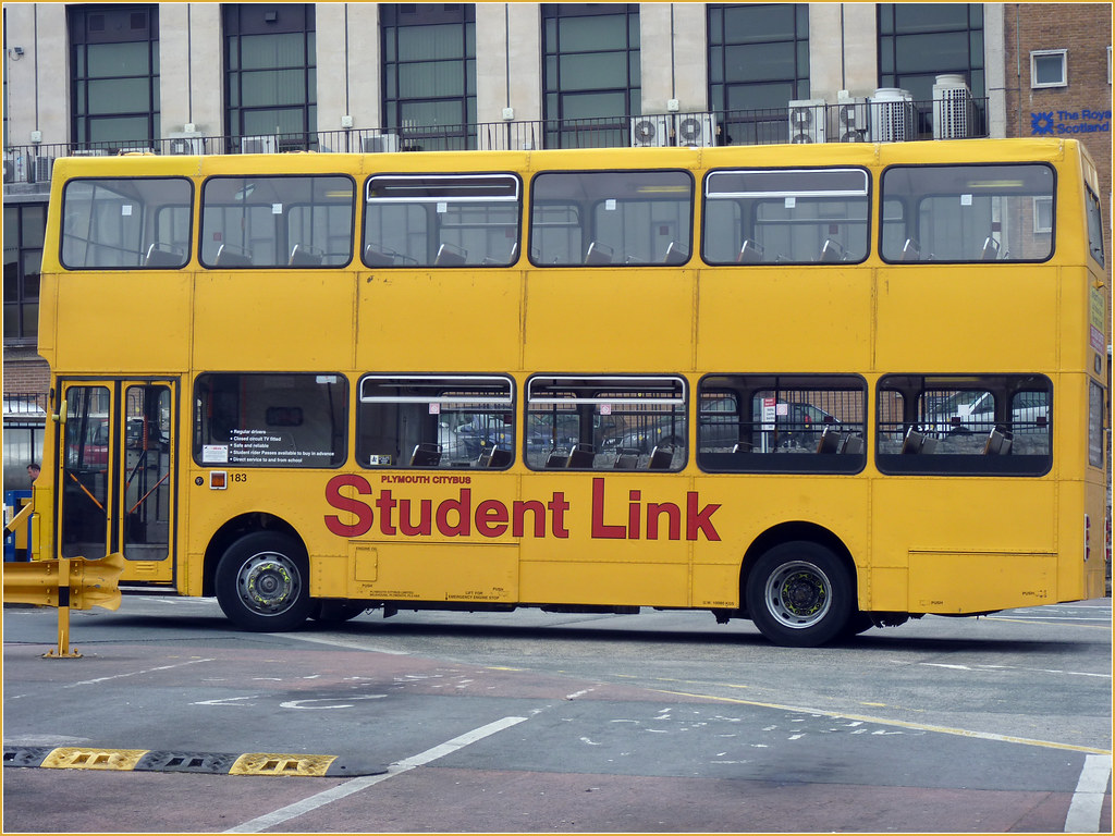 Plymouth Citybus 183 F600GVO