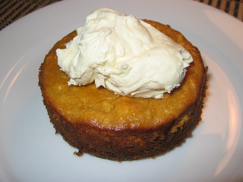 Pumpkin Cheesecake with Maple Mascarpone Cream | by Kevin - Closet Cooking