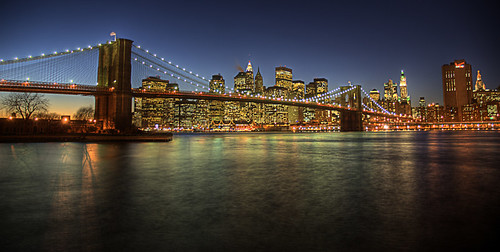 Brooklyn bridge, New York City HDR | by Mathieu Milot