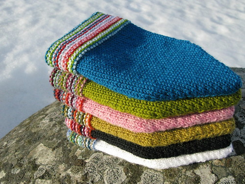 Garter Stripe Beanies | by terhimon