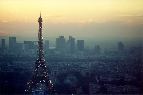 Eiffel Tower at Sunset | by mark_jones