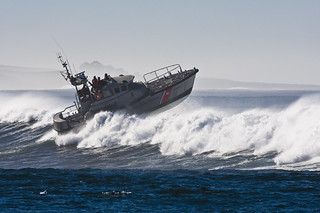 Coast Guard 47' Motor Lifeboat in Morro Bay, CA 04 Dec 2007 | by mikebaird