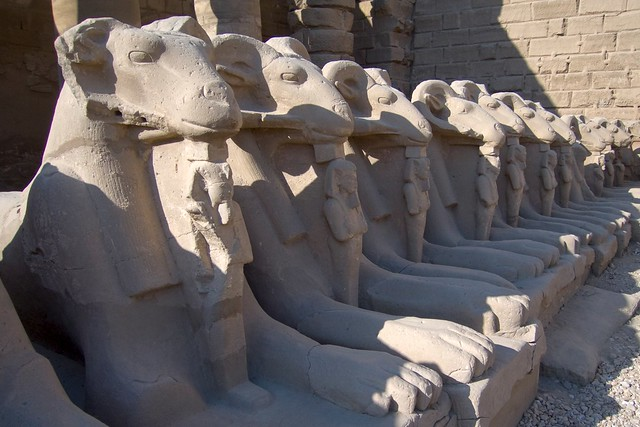 Entrance to Karnak