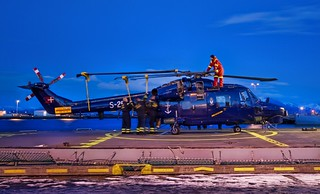 Securing the Icelandic Chopper at Dusk | by Stuck in Customs