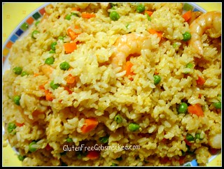 GF:  Pineapple and Shrimp Fried Rice | by Kate Chan