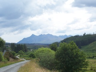 The Cuillin Mountains from Braes Road, Portree, Isle of Skye, July 2010 | by allanmaciver